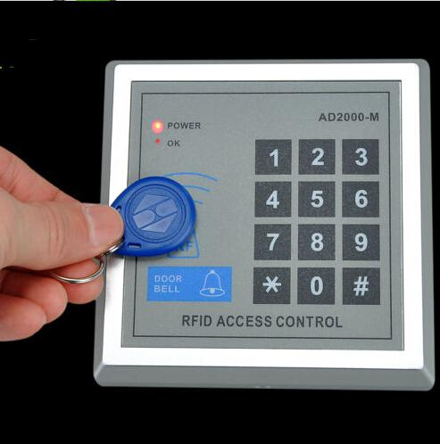 Keypad Door Lock >> 2017 Rfid Tag Abs 125kh Proximity Keypad Door Entry Access Control Alarm System Network Lcd Card ...