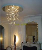 Wholesale Ems Pendant Light - 50*50 Glass Bubble Ball Ceiling Light Fashion Bubble Chandelier Suspension Light Modern Bubble Pendant Lamp, EMS Free Shipping