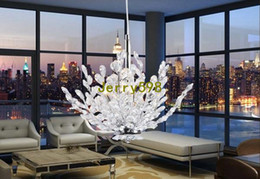 Wholesale Ship Chandeliers Crystal - Stunning! Spectacular Modern Crystal Chandelier, Crystal Tree Shape Pedant Light, Guaranteed 100%+Free shipping!