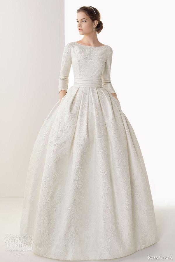 New Arrival Fashion Wedding Dresses Ball Gown Bateau Backless T