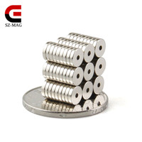 200pcs Strong Ring Magnets Dia 5x1. 5mm Aperture1. 27mm 35H Ra...