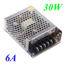 Wholesale Dc 5v 6a - AC 100V-240V to DC 5V Voltage Transformer 6A 30W Switch Power Supply for Led Strip LED display billboard industrial equipment H11006