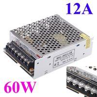 online shopping Led Dc Voltage Display - Switch Power Supply for Led Strip industrial equipment LED display 12A 60W Voltage Transformer AC 100V-240V to DC 5V billboard H11008