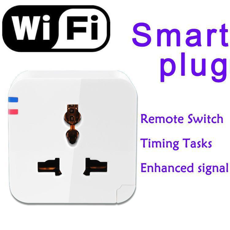 Timing Tasks Switch Wireless Wifi Smart Socket Plug Power Switch ...