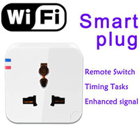 Wireless Repeater wifi power plug socket time setting Timing Tasks Switch Wireless WIFI Smart Socket plug Power Switch Home Automation Switch for Android,Apple iPhone, iPad and iPod touch