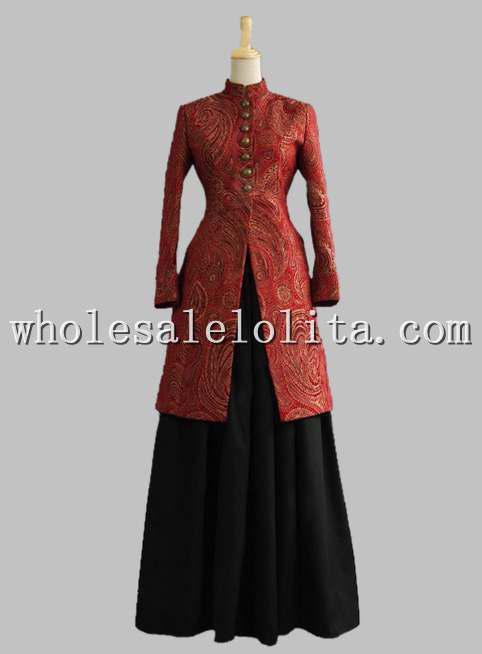 cheapest replicas best place Victorian Edwardian Ladies Frock Coat Dress Old West Jacket Reenactment