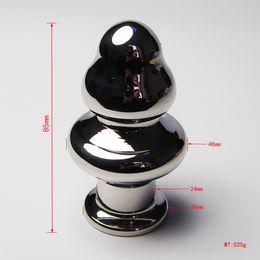 Wholesale Small Anus - The latest design mushroom anal plug stainless steel attractive butt plug jewelry jeweled anus plug rosebud anal jewelry large small A532