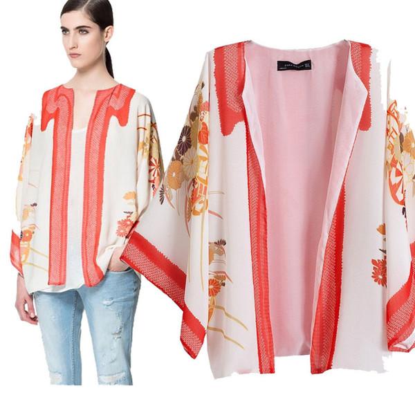 Special clearance Vintage Women Boho Hippie Loose Style Kimono Coat Cape Blazer Jacket New