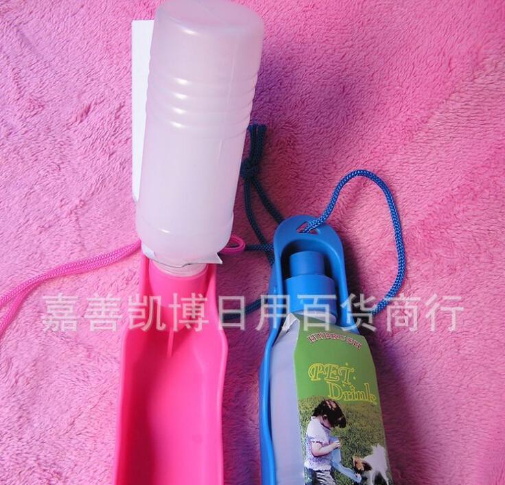 الجملة - العلامة التجارية الجديدة الساخن بيع المحمولة زجاجة تغذية كلب المياه في الهواء الطلق السفر K5BO