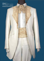 en çok satan bağlar toptan satış-Sıcak satış Damat Smokin Groomsmen Erkekler Düğün Takımları İyi adam Suits (Ceket + Pantolon + Kuşak + Kravat) Damat Giyim Smokin SS6