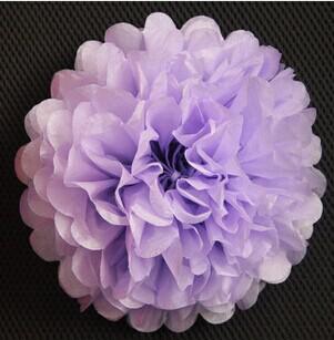 Papier de soie Pom Poms Lanterne en papier Pom Pom Blooms Flower Balls