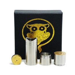 Wholesale Tugboat Mods - Infinite 4 nine Mechanical Mod copper 4nine mod Stainless Steal Fit atty tugboat Kayfun Ithaka atomic cat Atomizer
