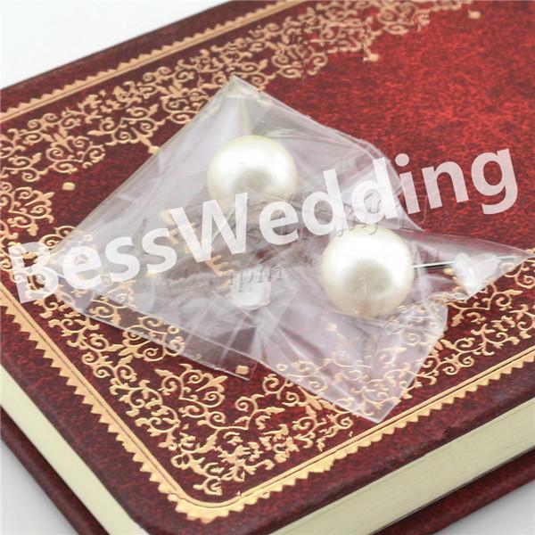 Nuovo design Exquisite 6mm perla gioielli da sposa vendita online spedizione gratuita orecchini da sposa prom partito evento Earing Evenning accessori