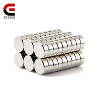 Free shipping 70pcs Strong Round Magnets Dia. 8x3mm N50 Rare ...