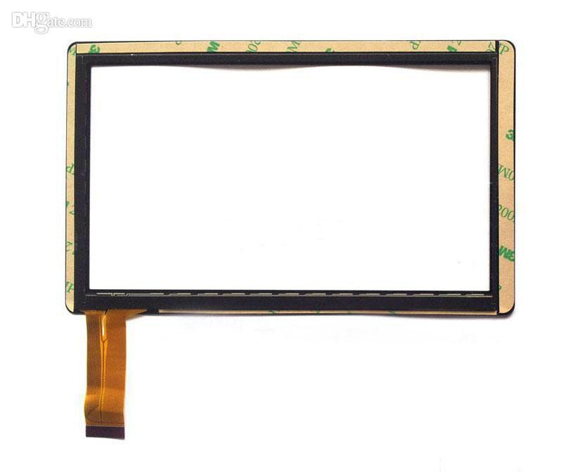 Brand New Touch Screen Vetro Display Digitizer Digitiser Sostituzione del Pannello 7 Pollice Q8 Q88 A13 A23 A33 ATM Tablet PC Parte di Riparazione MQ100