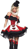 Wholesale Women Gothic Costume Plus - Free Shipping Adult Sexy Women Burlesque Carnival Deluxe Costume Halloween Cosplay Costumes Plus Size ZT84625