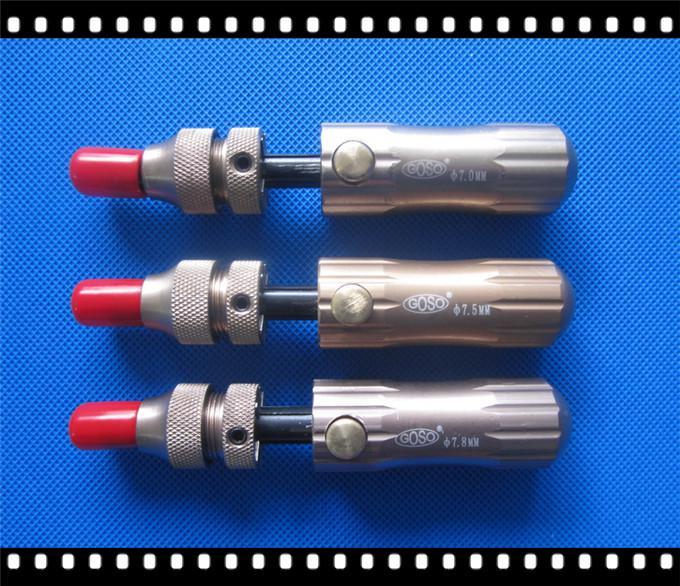 GOSO 7pin / 7.5pin / 7.8 Pin Tubular Adjustable Manipulation Lock Pick, locksmith tools lock S060