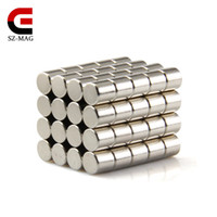 Wholesale Wholesale Magnets Picture - Free shipping 100pcs Strong Round Dia.5x5mm N50 Rare Earth Neodymium Magnet Disc Picture Wall