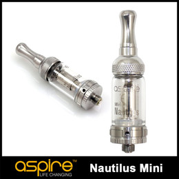Nautilus miNi vape online shopping - 100 Original Aspire Nautilus Mini Tank ML adjustable airflow Tank System BVC Coil Clearomizer atomizer high quality E Cigarettes vape