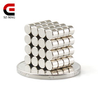 In Stock 200pcs Strong Round NdFeB Magnets Dia 4mmx3mm N50 R...