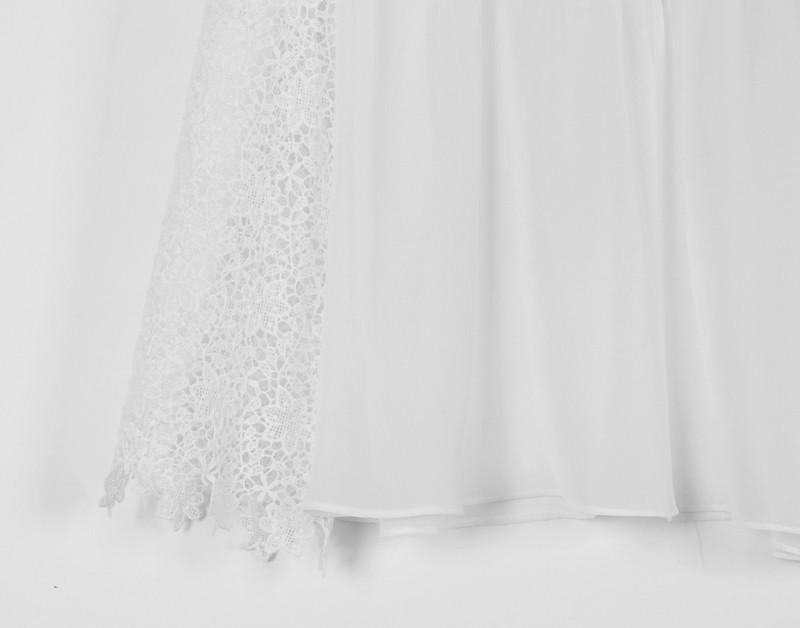 2014 estate moda pizzo t-shirt donna bianca signore t-shirt sexy casual ragazze chiffon t-shirt top tank plus size pizzo top t-shirt hz5
