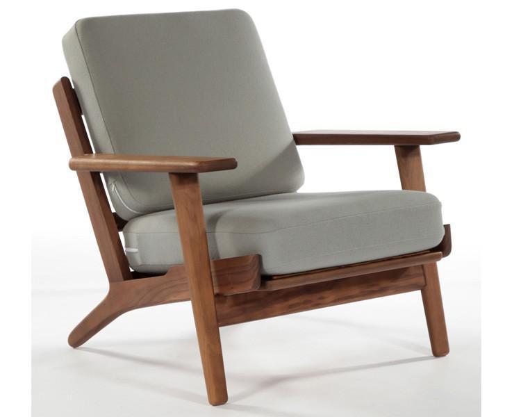 2019 Hans Wegner Armchair,Living Room Chair,Modern Design Chair,Wood  Frame,Fabric Cushion,Solid Wood Chair,Leisure Chair From Strongtomydh,  $402.02   ...
