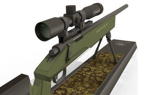 1:1 Paper Gun Model M40A3 Sniper Rifle Handmade Diy Puzzle Toy ...