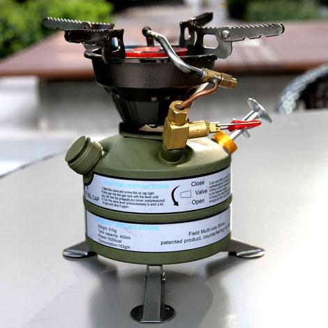 New Portable Outdoor Camping Gasoline Stove ,Field Cookout ...