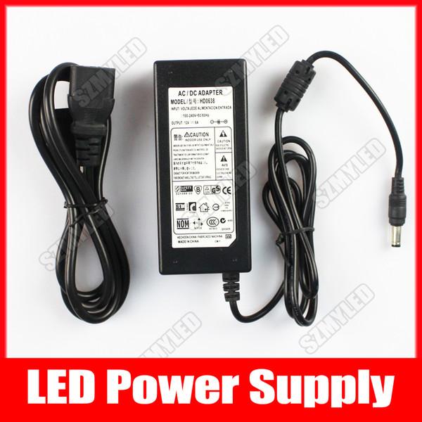 12V6A 72W Adapter Power Supply Universal For Led Strip Light AC To DC  110V-220V