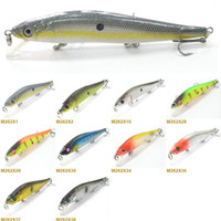 Wholesale Fishing Lure Minnow Crankbait Hard Bait Fresh Water Shallow Water Tight Wobble Slow Floating Jerkbait M262