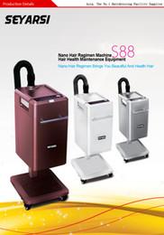 Wholesale Nano Steamer - SEYARSI top selling Nano Hair Recover and Preserve Machine S88, Nano Hair Steamer, hair care, Color Brown