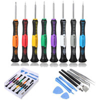 Wholesale Iphone 4s Repair Set - S5Q 16 in 1 Repair Tools Screwdrivers Set Kit For iPhone 5 5S 4S iPad 4 PAD AAABYM
