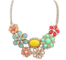 2014 Newest statement gold chunky Necklaces & Pendants wholesale fashion choker necklaces for women jewelry
