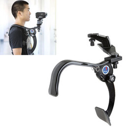 Wholesale Hands Free Camera - Hand Free Shoulder Pad Support Stabilizer 5KG for Camcorder DV Video Camera Free Shipping + Drop Shipping 1 Day Dispatch
