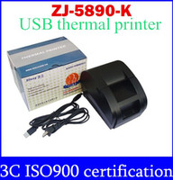 Wholesale freeshipping black USB Port mm thermal Receipt pirnter POS printer low noise printer thermal top sale