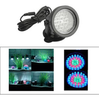 Wholesale Led Aquarium Submersible Lamp - LED Aquarium Lights Spot Light Garden Pond Pool Submersible LED Lighting Underwater Lights RGB Light Led Underwater Fountain Light Tank Lamp