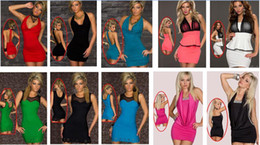 Wholesale Casual Lingerie - Hot Sale Babydoll Mix Styles Clubwear Ladies Sexy Lingerie Sexy Dress With G-string High Quality Sexy Clubwear Party Cocktail