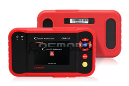Wholesale Saab Launch Crp123 - Launch CPR-123 Code Creader OBDII EOBD Auto Scanner LAUNCH crp123 Update Online Multi-language For ENG,TCM,ABS,SRS creader VII+ creader 7+