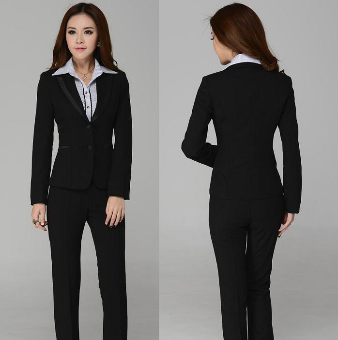 2018 High Quality New 2014 Autumn Winter Women Suits Pant