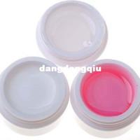 jöle markası oje toptan satış-Toptan-1 Takım / 5 Adet Oluşturmak Için 5 Adet UV Jel Tırnak Araçları Builder Fantastik Kristal Fransız Tırnak Etkisi Temizle Beyaz Pembe + UV Sonkat + Baz Jel