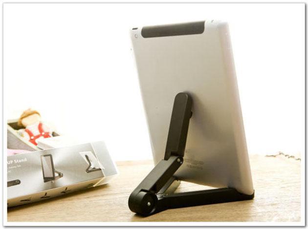 العالمي المحمولة قابلة للطي حامل حامل القوس لابل اي باد الهواء 2 3 4 البسيطة أسود أبيض اللون DHL