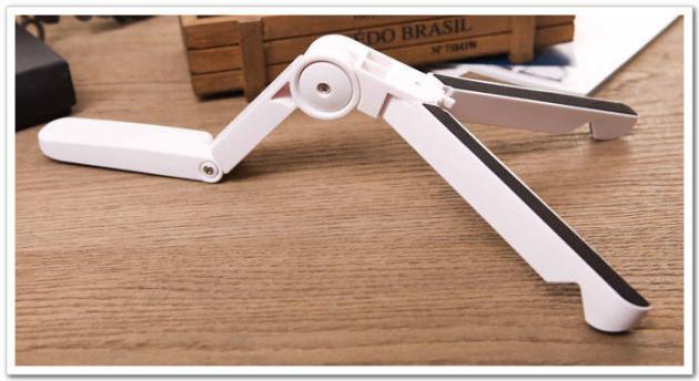 Universal Portable Fold-Up Stativhållare Bracket för Tablet PC iPad 4 Mini Air för Samsung Google Tablet Justerbar
