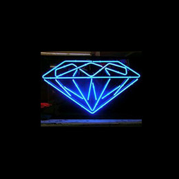 Wholesale New Diamond Neon - New DIAMOND handicrafted real glass tube Neon Light Beer Lager Bar Pub Sign Multiple Size 17*14