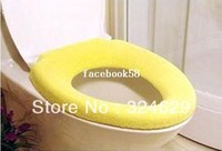 Wholesale Soft Toilet Cover - Free shipping Colorful&Warm Toilet Seat Cover Household soft toilet Cover WC cover Optional color