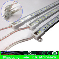 Wholesale 72 Led Light Bar - 30X Hard LED Strip Waterproof IP68 5630 SMD Warm White Rigid Bar 36 72 LEDs 1 Meter 0.5M Light With
