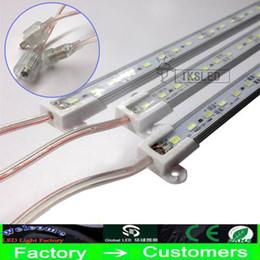 30X Sert LED Şerit Su Geçirmez IP68 5630 SMD Sıcak Beyaz Sert Bar 36 72 LEDs Ile 1 Metre 0.5 M Işık