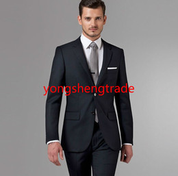 $enCountryForm.capitalKeyWord Canada - New Arrival Charcoal Men Business Suit Perfect For Any Occasion Custom Made Suit MS0364