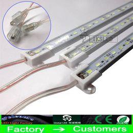 Toptan satış 50x Sert LED Şerit Su Geçirmez IP68 5630 SMD Sıcak Sert Bar 36 72 LED'ler 1 Metre 0.5m Işık Ile