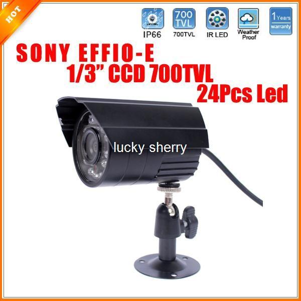"1/3"" Weatherproof SONY Effio-E 700TVL Camera 3.6/6mm CCD Security Camera CCTV"
