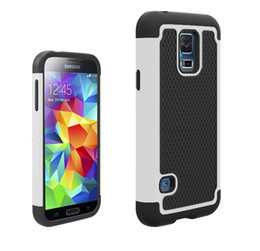 Wholesale Galaxy S4 Rubber - Hybrid Case Rugged Impact Rubber Matte Shockproof Heavy Hard Case for iphone 6 6S Plus 5 5S 5C Samsung Galaxy S3 S4 S5 S6 Edge HTC M9 note 4